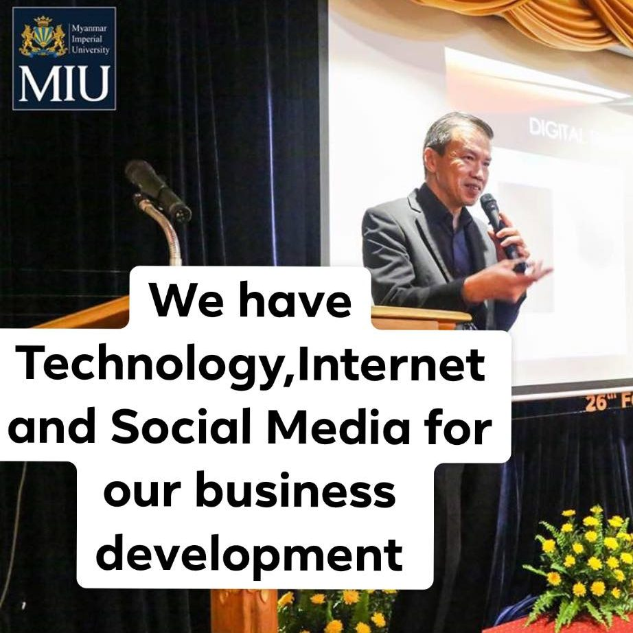 Interview of our Director on Digital Transformation 2.0 by Myanmar Imperial University