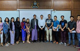 myanmar imperial university digital marketing MBA class