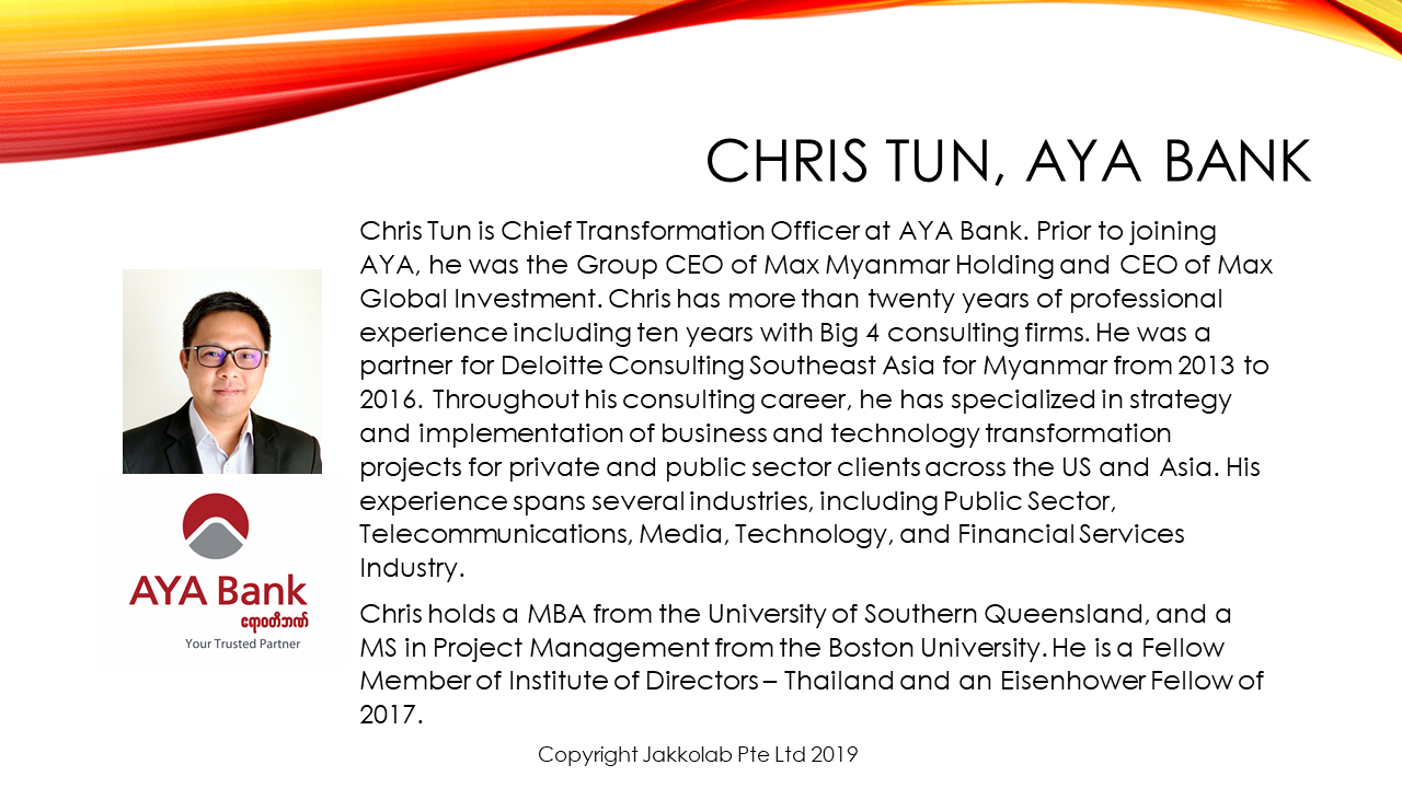 chris tun aya bank