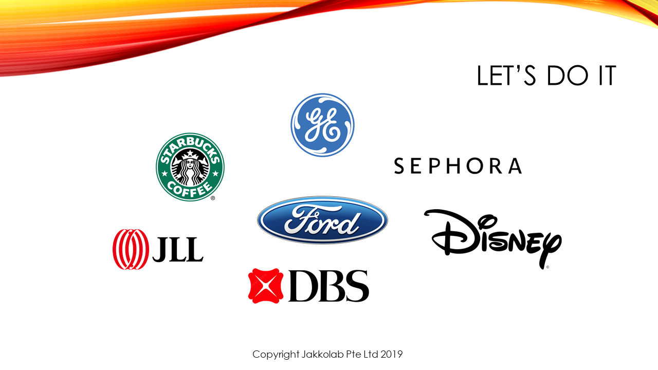 digital transformation logos ford, dbs disney sephora JLL GE Starbucks