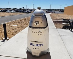 security robot autonomous