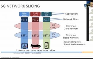 3GPP 5G network slicing NUS public class Zoom online